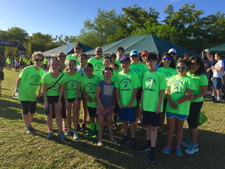 Miami Jdrf Walk 2016 T-Shirt Photo