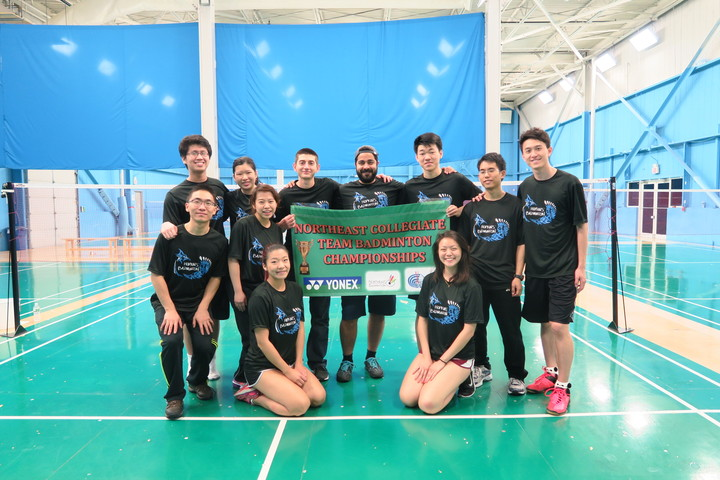 Johns Hopkins Badminton T-Shirt Photo