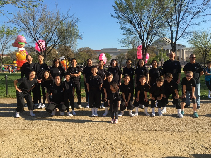 We Performed At The Dc Cherry Blossom Parade!! T-Shirt Photo