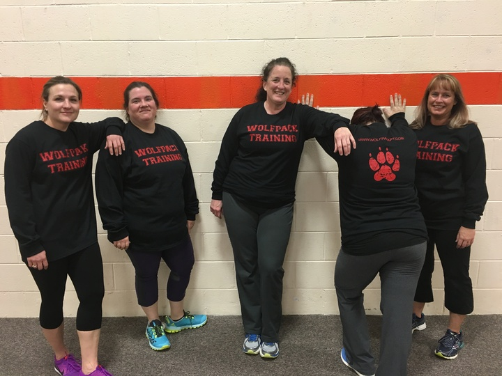 The Ladies Of Wolfpack Pt Rocking Their New Shirts! T-Shirt Photo