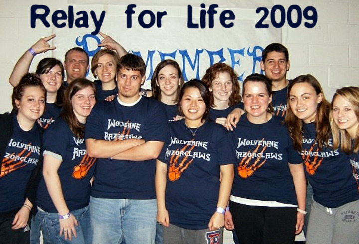 St. John Fisher College & Nazareth College   Relay For Life! T-Shirt Photo