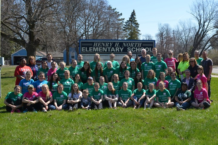 Outreach To Teach: North Elementary T-Shirt Photo