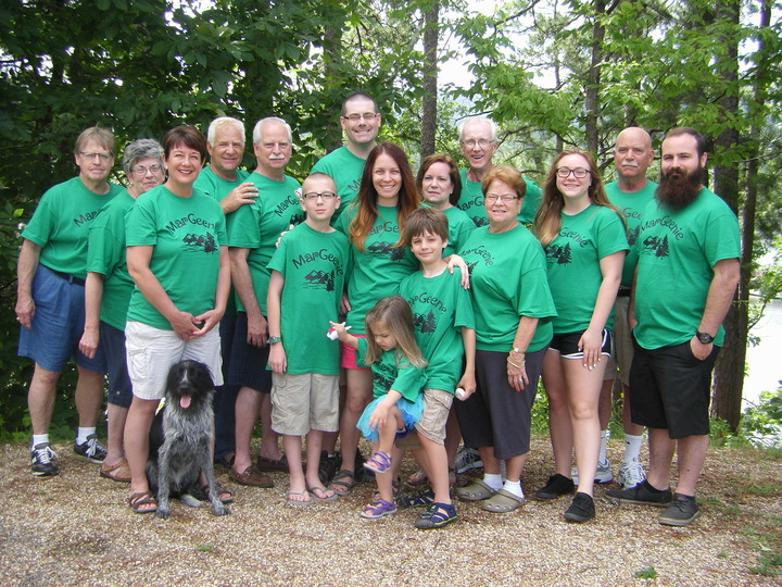 Mar Geenie Family Reunion T-Shirt Photo