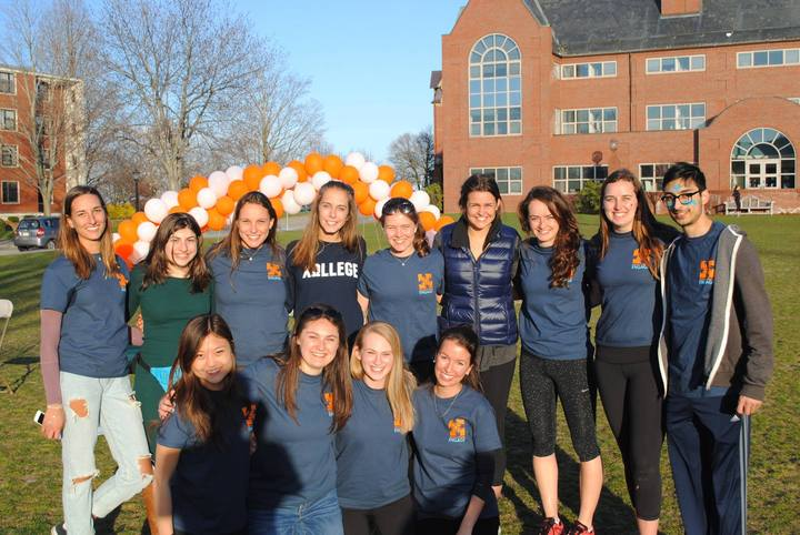 Tufts Partners In Health Engage Walkathon T-Shirt Photo