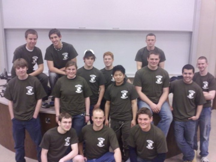 U Conn Airsoft Team T-Shirt Photo