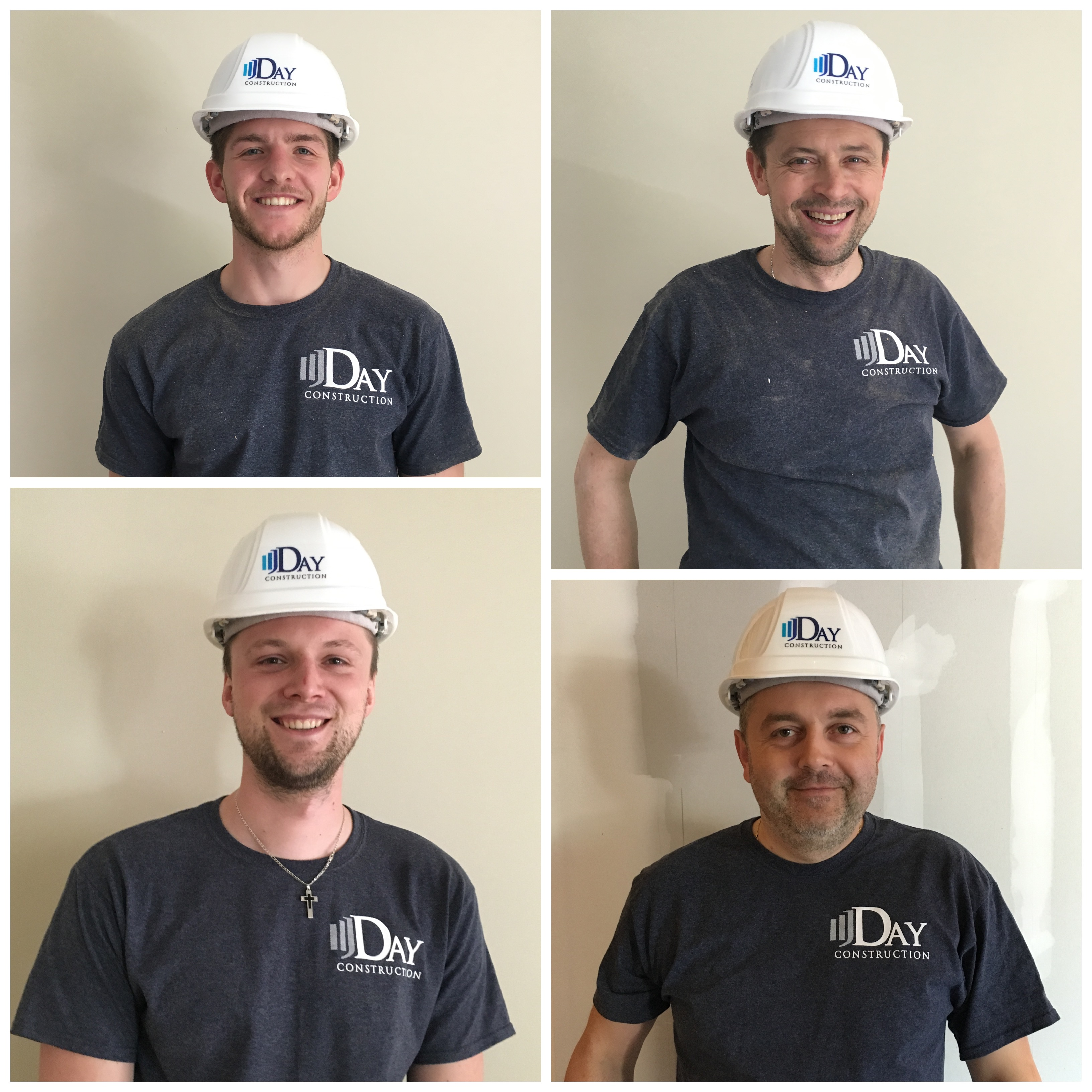 Design your own t-shirt and hats - The J Day Construction Dream Team T Shirt Photo