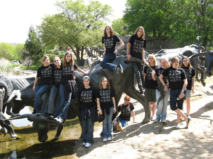 Girl Scouts In Dallas T-Shirt Photo