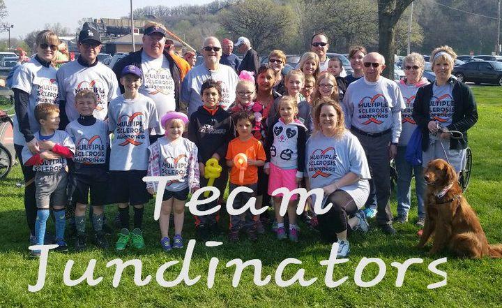 2016 Ms Walk Team Jundinators T-Shirt Photo