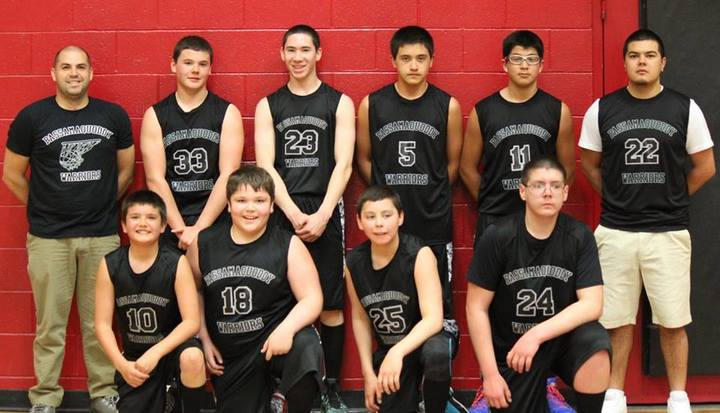 Passamaquoddy Youth Basketball T-Shirt Photo