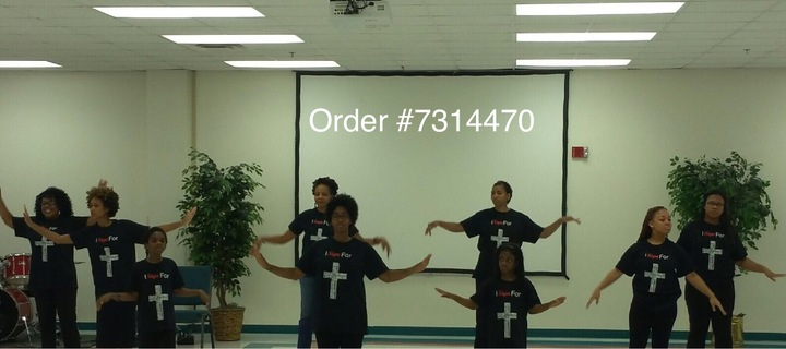 Destiny World Church Sign Language Ministry T-Shirt Photo