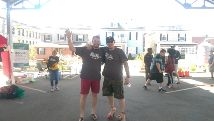 Walk A Mile In Her Shoes, Morgantown Wv T-Shirt Photo