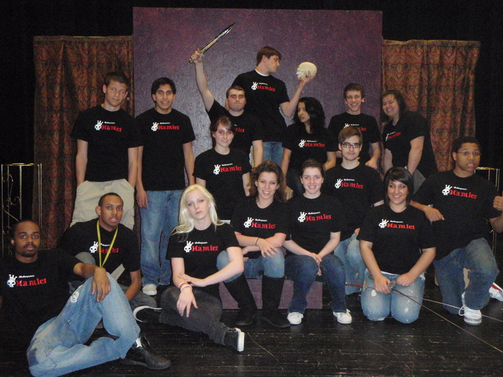 The Play's The Thing.... Hamlet  Act Ii Scene 2 T-Shirt Photo