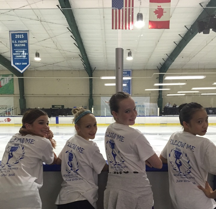 Follow Me To 3016 Memorial Trophy Figure Skating Competition In Houston T-Shirt Photo