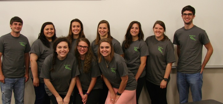 Microbiology Lab Students T-Shirt Photo