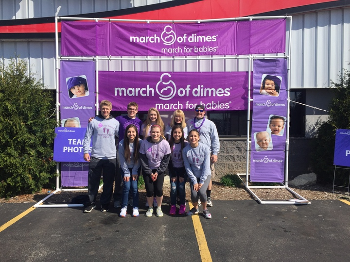 March For Babies T-Shirt Photo