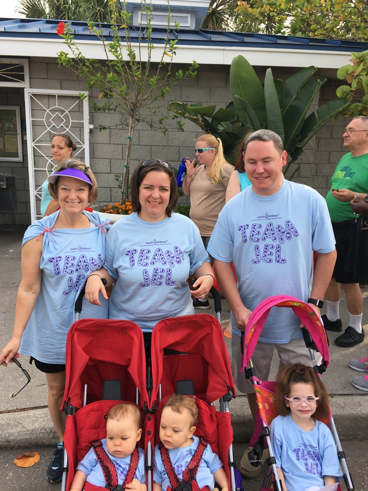 Team Jel March Of Dimes T-Shirt Photo