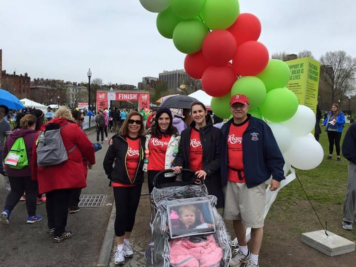 Regenie's Team Finishing The Boston Walk For Hunger T-Shirt Photo