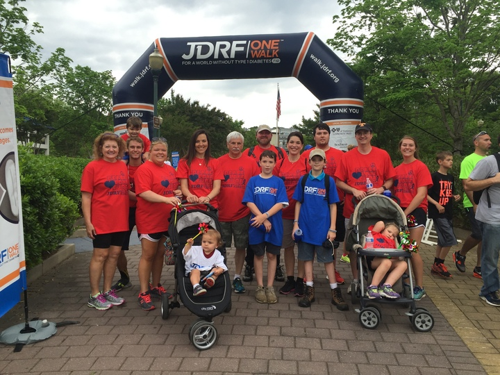 Jdrf Walk 2016  T-Shirt Photo