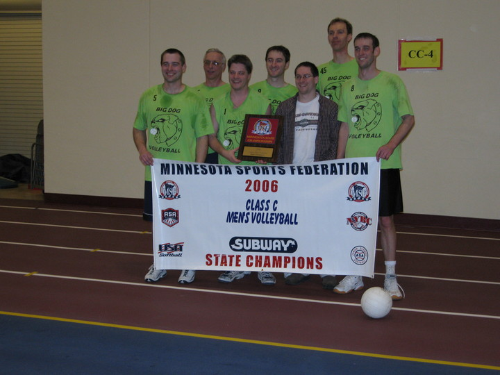 Custom Ink = State Mens Volleyball Champions! T-Shirt Photo