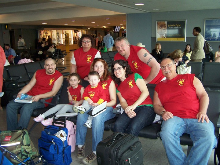 "Jamaica ""No Problem"" At The Airport T-Shirt Photo"