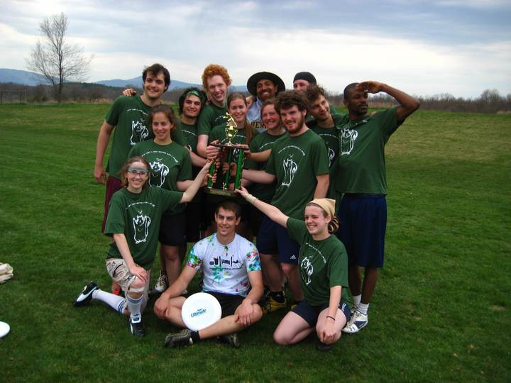 Gryphon Ultimate Disc Nuts T-Shirt Photo