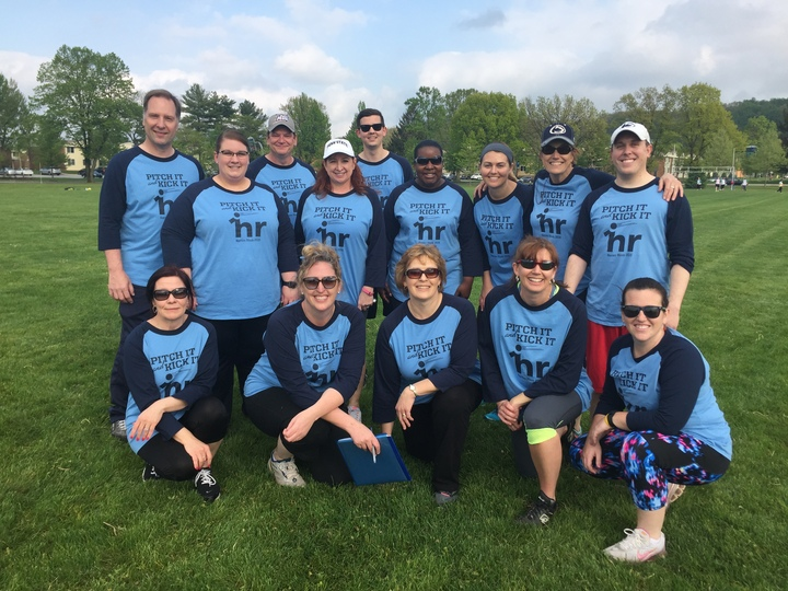 2016 Hr Kickball Team   Happy Nurses Week!! T-Shirt Photo