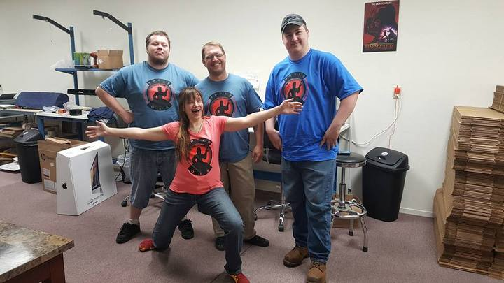 Stylin' Led Saber Builders T-Shirt Photo