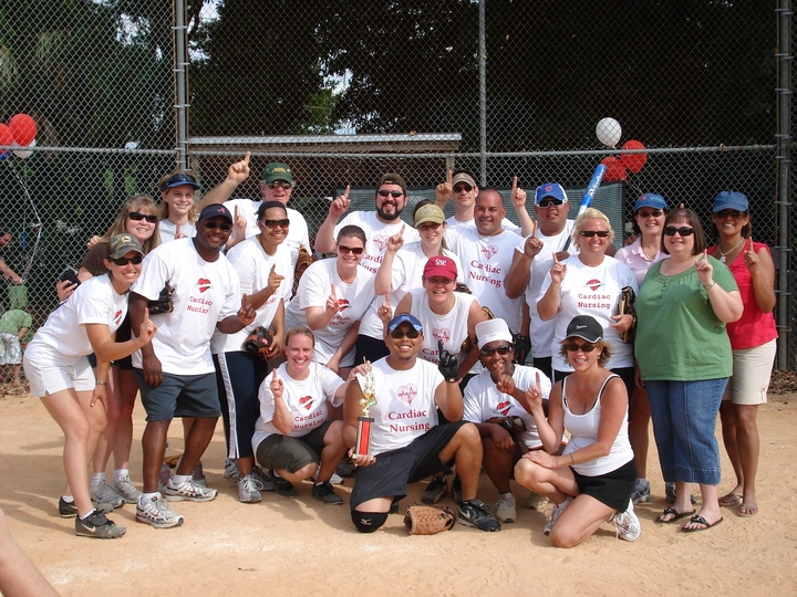 Florida Hospital Cvi Annual Picnic/ Softball Tournament 2009 T-Shirt Photo