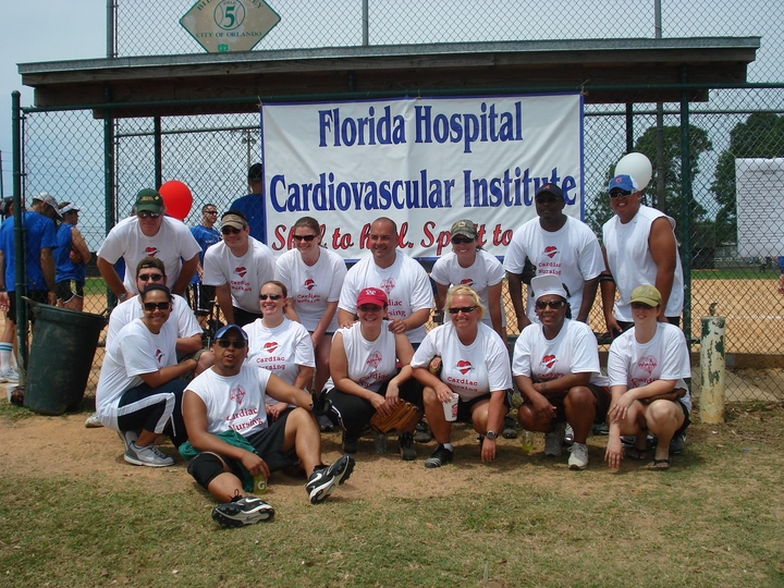 Florida Hospital Cvi Annual Picnic & Softball Tournament T-Shirt Photo