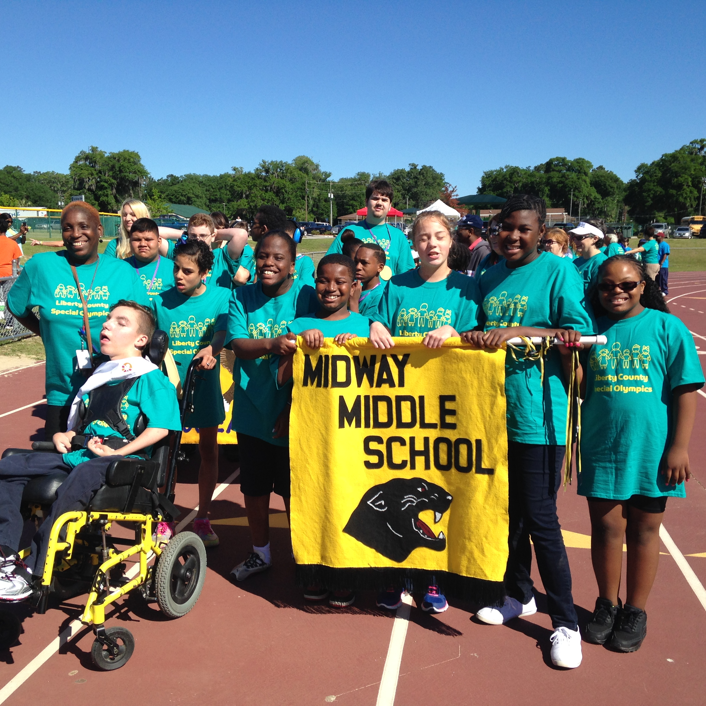 School shirt design your own - Midway Middle School Athletes T Shirt Photo