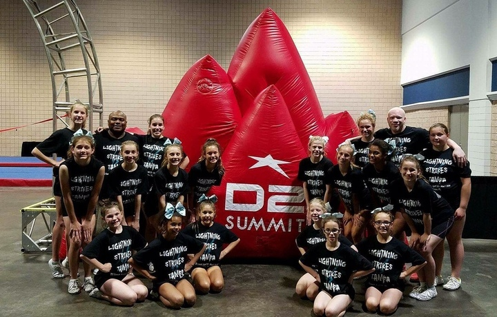 Storm Cheer Lighting   D2 Summit T-Shirt Photo