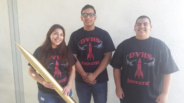 Desert Valley Rocketry Club T-Shirt Photo