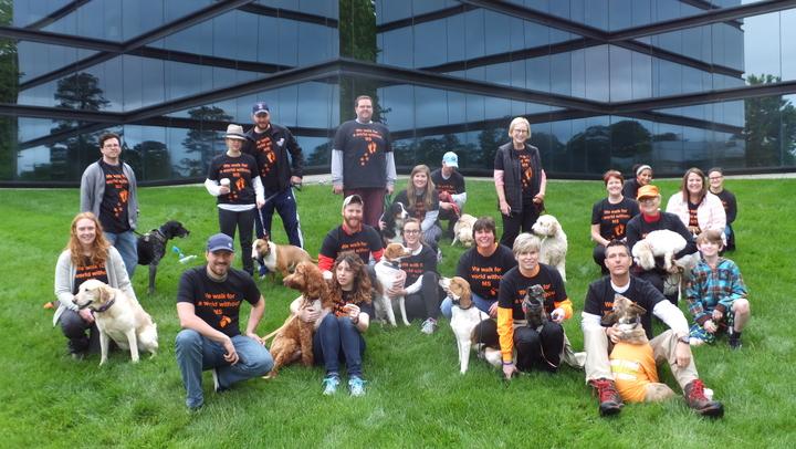 Walk Ms: Richmond Va Team Follow Me Dog Training Llc T-Shirt Photo