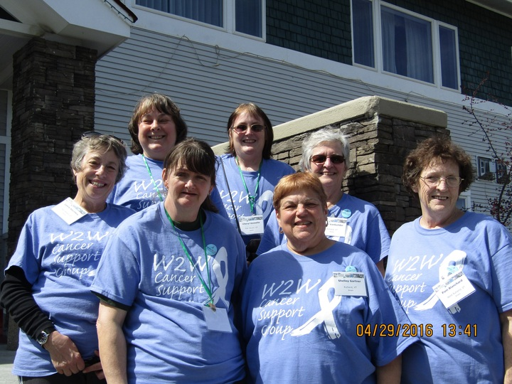 W2 W Cancer Support Group At Stowe Weekend Of Hope T-Shirt Photo