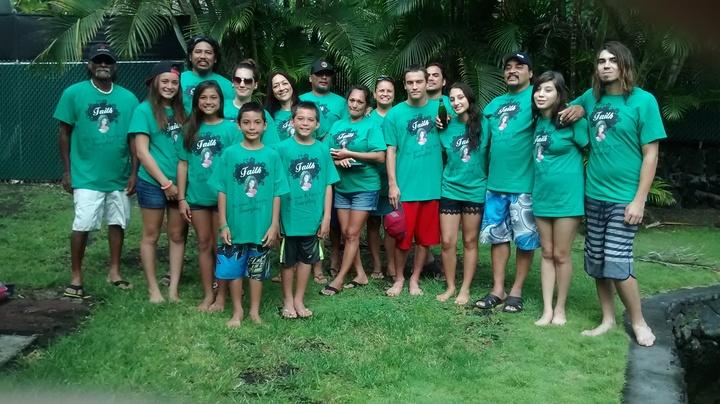 Faith We Love & Miss You Everyday T-Shirt Photo