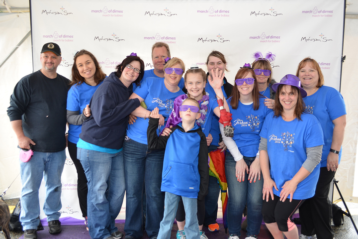 Team Joshua March Of Dimes T-Shirt Photo