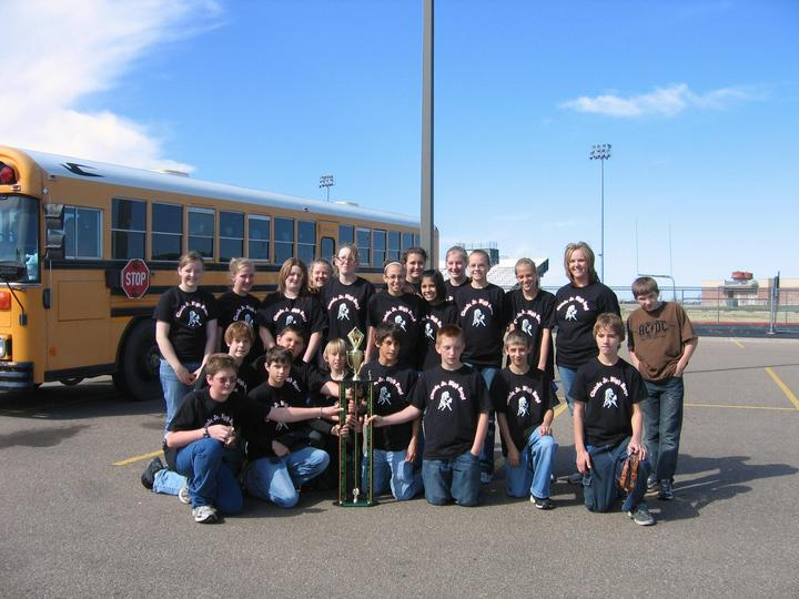 Jh Band Wins Sweepstakes T-Shirt Photo