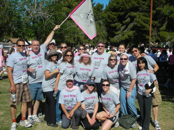 2009 Race For The Cure  Team Ortho T-Shirt Photo