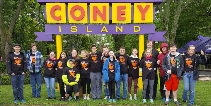 Rain Or Shine The Ryle Raider's Drama Club Rocked The Autism Speaks Walk! T-Shirt Photo