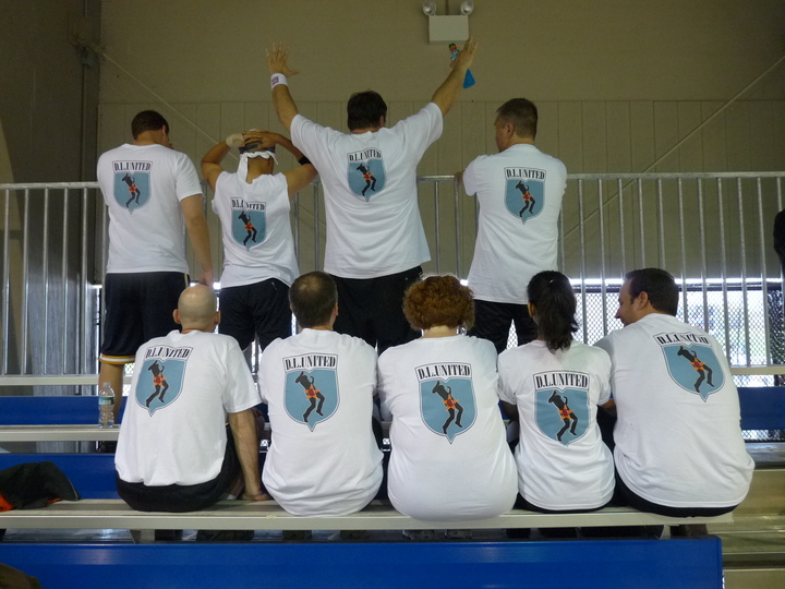 Defined Logic Dodgeball Team T-Shirt Photo
