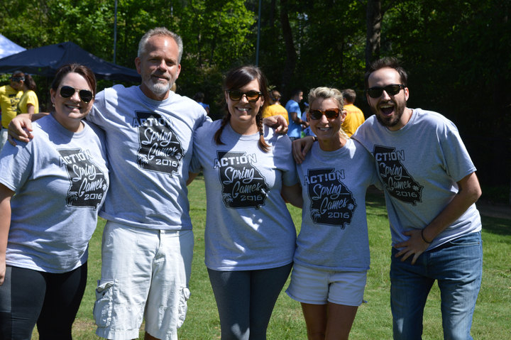 Action Spring Games  T-Shirt Photo