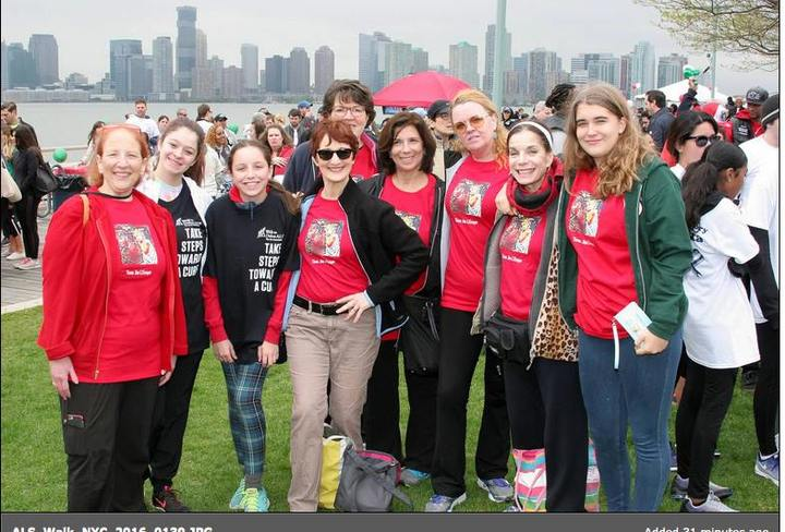 Als Walk   Friends And Family T-Shirt Photo