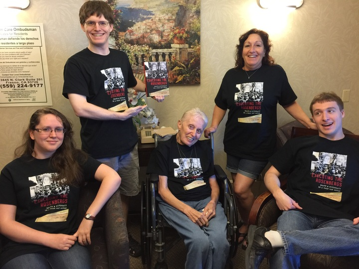 Lori's Family Celebrating Her New Book! T-Shirt Photo