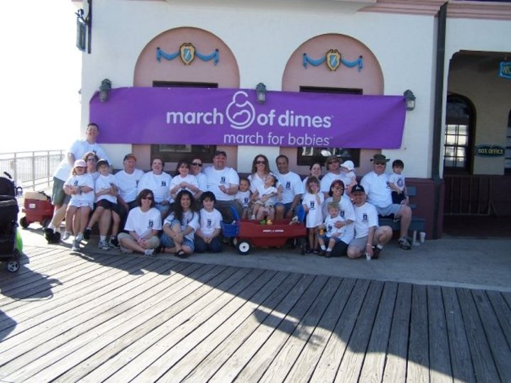 March For Babies Walk 4/26/09 T-Shirt Photo