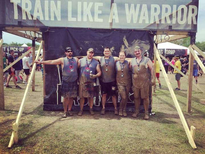 Warrior Dash Done! T-Shirt Photo