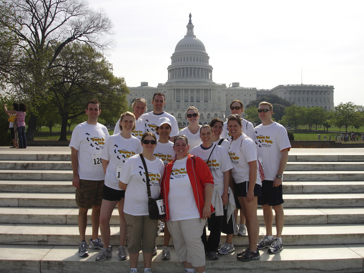 Washington, Dc Ms Walk 2009 T-Shirt Photo