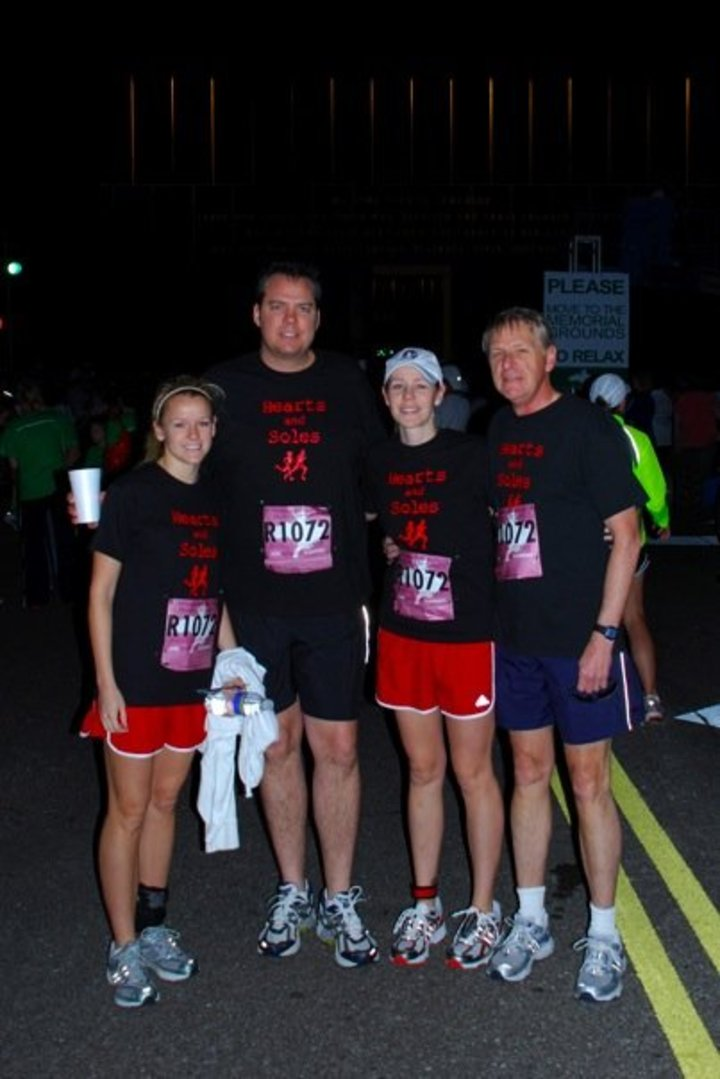 Hearts And Soles Marathon Relay Team T-Shirt Photo