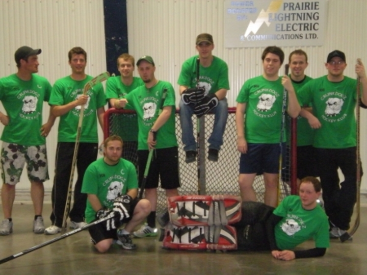 The 306 Crunkdogz Hockey Klub T-Shirt Photo