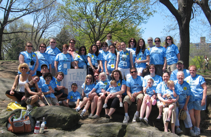 Parkinson's Unity Walk   April 25, 2009 T-Shirt Photo