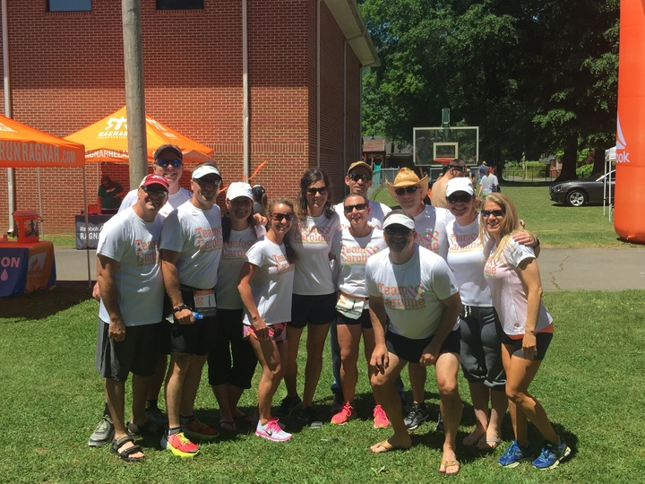 Team Caroline Dominates Ragnar Tn Masters T-Shirt Photo